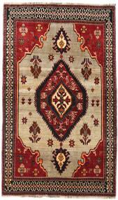 Qashqai Rug 127X214 Authentic Oriental Handknotted Dark Red/Dark Brown (Wool, Persia/Iran)