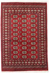 Pakistan Bokhara 2Ply Rug 125X185 Authentic  Oriental Handknotted Dark Red (Wool, Pakistan)
