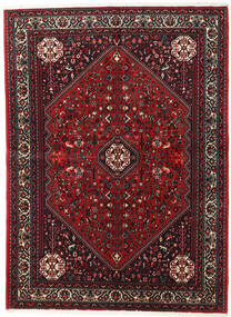 Abadeh Rug 152X208 Authentic  Oriental Handknotted Dark Red/Black (Wool, Persia/Iran)