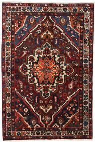Bakhtiari Rug 140X210 Authentic Oriental Handknotted Black/Dark Red (Wool, Persia/Iran)