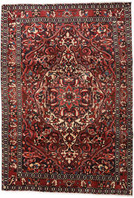 Bakhtiari Rug 215X306 Authentic  Oriental Handknotted Dark Red/Dark Brown (Wool, Persia/Iran)