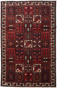 Bakhtiari Rug 202X313 Authentic  Oriental Handknotted Dark Brown/Dark Red (Wool, Persia/Iran)