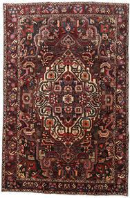 Bakhtiari Rug 204X307 Authentic  Oriental Handknotted Dark Red/Black (Wool, Persia/Iran)