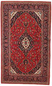 Keshan Rug 135X230 Authentic  Oriental Handknotted Dark Red/Dark Brown (Wool, Persia/Iran)
