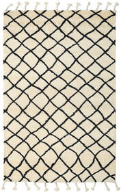 Atlas Berber Rug 180X275 Authentic  Modern Handknotted Beige/Black (Wool, India)
