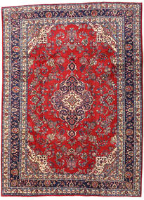 Hamadan Shahrbaf Rug 214X294 Authentic  Oriental Handknotted Dark Red/Crimson Red (Wool, Persia/Iran)