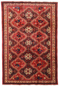Qashqai Rug 197X292 Authentic  Oriental Handknotted Dark Red/Rust Red (Wool, Persia/Iran)