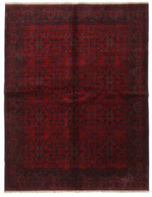 Afghan Khal Mohammadi Rug 175X225 Authentic  Oriental Handknotted Dark Brown/Dark Red (Wool, Afghanistan)