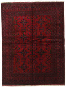 Afghan Khal Mohammadi Rug 175X228 Authentic  Oriental Handknotted Dark Red (Wool, Afghanistan)
