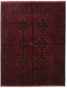 Afghan Khal Mohammadi Rug 166X227 Authentic  Oriental Handknotted Dark Red (Wool, Afghanistan)