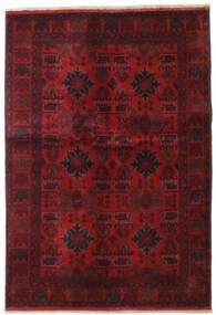 Afghan Khal Mohammadi Rug 132X189 Authentic  Oriental Handknotted Dark Red/Dark Brown (Wool, Afghanistan)