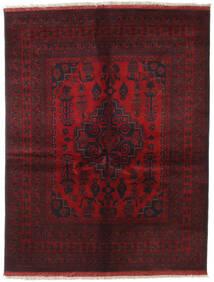 Afghan Khal Mohammadi Rug 151X196 Authentic  Oriental Handknotted Dark Red/Dark Brown (Wool, Afghanistan)