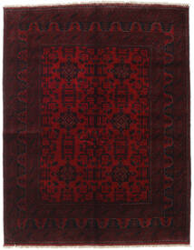 Afghan Khal Mohammadi Rug 154X198 Authentic  Oriental Handknotted Dark Red (Wool, Afghanistan)