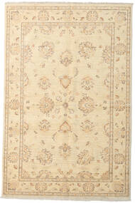 Ziegler Ariana Rug 138X208 Authentic  Oriental Handknotted Beige/Light Brown (Wool, Afghanistan)