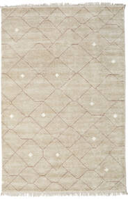 Beni - Beige/Brown Rug 300X400 Authentic  Modern Handknotted Light Grey Large ( India)