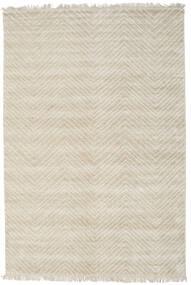 Vanice - Beige Rug 160X230 Authentic  Modern Handknotted Dark Beige/Light Grey ( India)