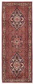 Bidjar Takab/Bukan Rug 80X217 Authentic Oriental Handknotted Hallway Runner Dark Red/Beige (Wool, Persia/Iran)