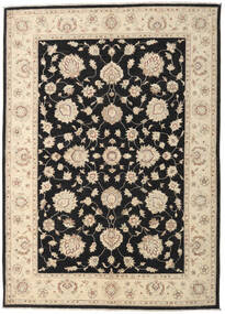 Ziegler Ariana Rug 168X235 Authentic  Oriental Handknotted Beige/Black (Wool, Afghanistan)