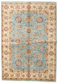 Ziegler Ariana Rug 172X246 Authentic  Oriental Handknotted Beige/Dark Beige (Wool, Afghanistan)