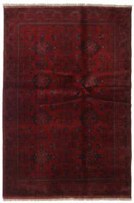 Afghan Khal Mohammadi Rug 133X195 Authentic  Oriental Handknotted Dark Red (Wool, Afghanistan)