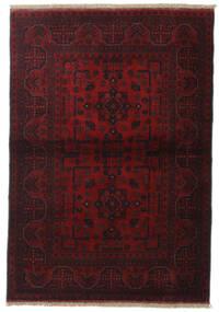 Afghan Khal Mohammadi Rug 105X151 Authentic  Oriental Handknotted Dark Brown/Dark Red (Wool, Afghanistan)