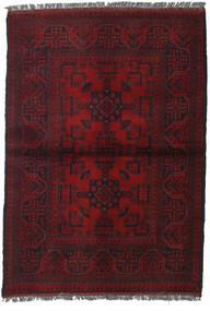 Afghan Khal Mohammadi Rug 103X146 Authentic  Oriental Handknotted Dark Red (Wool, Afghanistan)