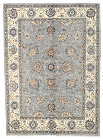 Ziegler Ariana Rug 140X192 Authentic  Oriental Handknotted Light Grey/Beige (Wool, Afghanistan)
