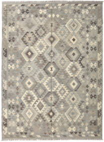 Kilim Afghan Old Style Rug 175X239 Authentic  Oriental Handwoven Light Grey (Wool, Afghanistan)