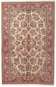 Sarouk Rug 132X213 Authentic  Oriental Handknotted Dark Grey/Brown (Wool, Persia/Iran)