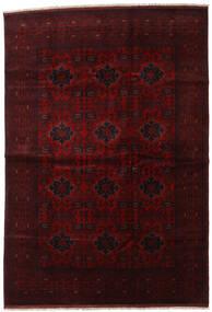 Afghan Khal Mohammadi Rug 201X292 Authentic  Oriental Handknotted Dark Brown/Dark Red (Wool, Afghanistan)