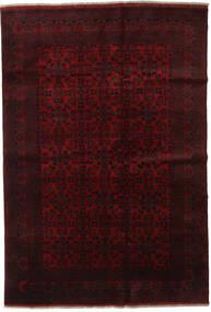 Afghan Khal Mohammadi Rug 198X289 Authentic Oriental Handknotted Dark Red (Wool, Afghanistan)