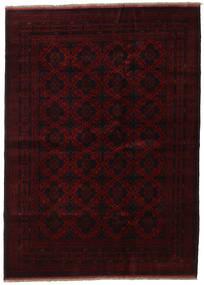 Afghan Khal Mohammadi Rug 205X282 Authentic  Oriental Handknotted Dark Brown/Dark Red (Wool, Afghanistan)