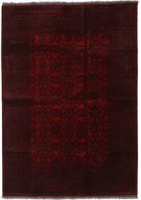 Afghan Khal Mohammadi Rug 205X291 Authentic  Oriental Handknotted Dark Brown/Dark Red (Wool, Afghanistan)