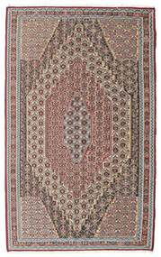 Kilim Senneh Rug 148X237 Authentic Oriental Handwoven Light Grey/Light Brown (Wool, Persia/Iran)