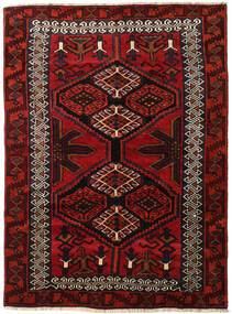 Lori Rug 165X223 Authentic Oriental Handknotted Dark Red/Rust Red (Wool, Persia/Iran)