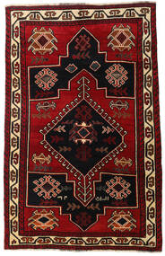 Lori Rug 156X248 Authentic  Oriental Handknotted Dark Brown/Dark Red (Wool, Persia/Iran)