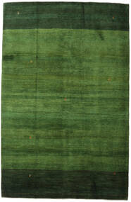 Gabbeh Persia Rug 198X307 Authentic Modern Handknotted Dark Green/Green (Wool, Persia/Iran)