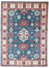 Kazak Rug 149X209 Authentic  Oriental Handknotted Blue/Dark Grey (Wool, Afghanistan)