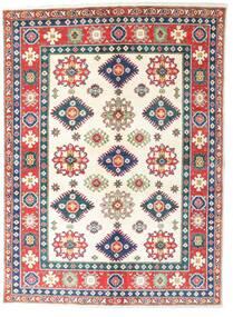 Kazak Rug 148X202 Authentic  Oriental Handknotted Beige/White/Creme (Wool, Pakistan)