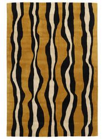 Tigre - Gold/Beige Rug 250X350 Modern Black/Brown Large (Wool, India)
