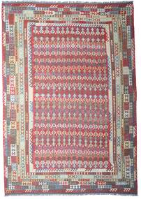 Kilim Afghan Old Style Rug 312X448 Authentic Oriental Handwoven Light Grey/Dark Grey Large (Wool, Afghanistan)