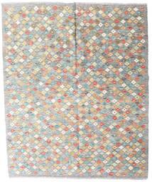Kilim Afghan Old Style Rug 161X195 Authentic  Oriental Handwoven Light Grey/Beige (Wool, Afghanistan)