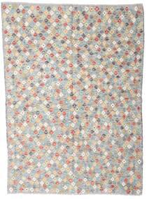 Kilim Afghan Old Style Rug 168X232 Authentic  Oriental Handwoven Light Grey/Beige (Wool, Afghanistan)