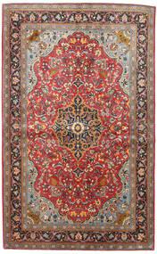 Sarouk Rug 133X217 Authentic  Oriental Handknotted Dark Red/Black (Wool, Persia/Iran)