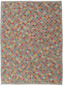 Kilim Afghan Old Style Rug 177X235 Authentic  Oriental Handwoven Light Grey/Dark Grey (Wool, Afghanistan)
