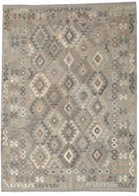 Kilim Afghan Old Style Rug 183X250 Authentic  Oriental Handwoven Light Grey (Wool, Afghanistan)