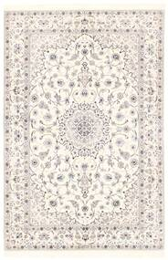 Nain 6La Rug 151X228 Authentic Oriental Handwoven Beige/Light Grey (Wool/Silk, Persia/Iran)