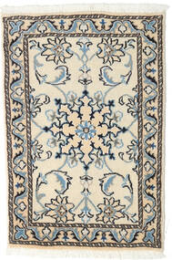 Nain Rug 60X90 Authentic  Oriental Handknotted Beige/Black (Wool, Persia/Iran)