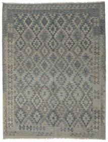 Kilim Afghan Old Style Rug 170X240 Authentic  Oriental Handwoven Dark Grey (Wool, Afghanistan)