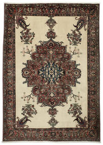 Bakhtiari Rug 222X308 Authentic  Oriental Handknotted Dark Brown/Dark Beige (Wool, Persia/Iran)
